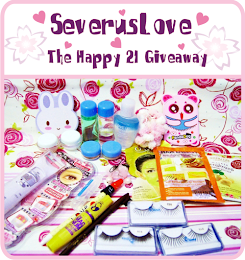 SeverusLove First Giveaway