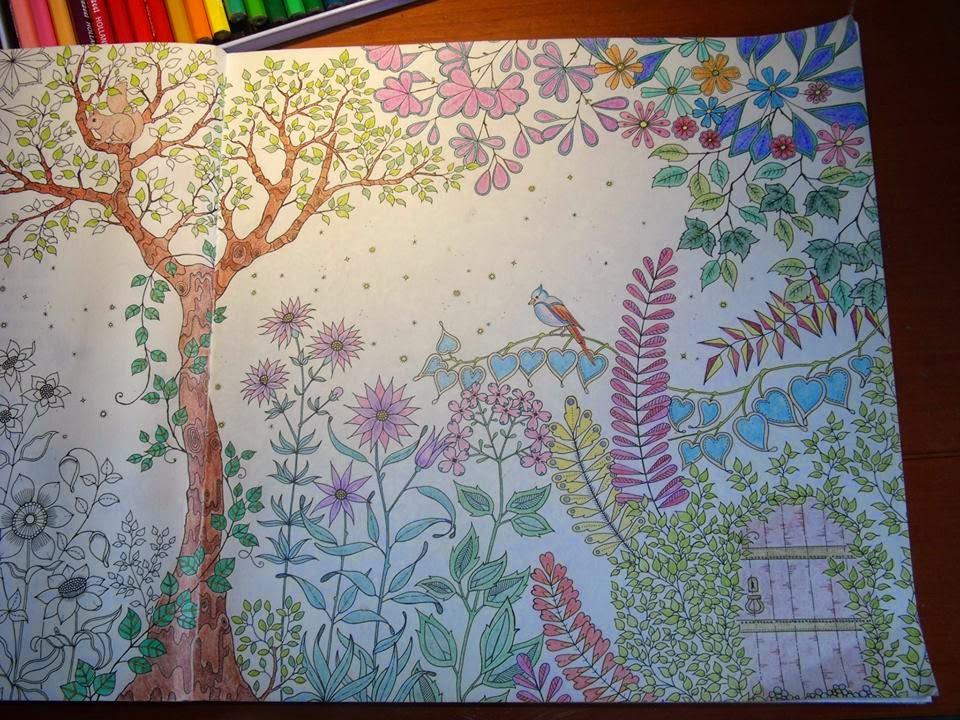 Perfectsweetcolors mijn geheime tuin for De geheime tuin boek