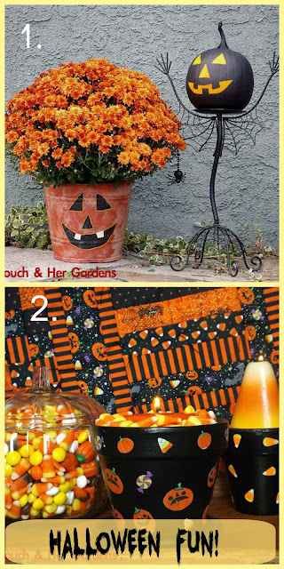 Fun Halloween Projects http://magictouchandhergardens.wordpress.com/2013/09/29/magic-touch-her-pumpkins/   http://magictouchandhergardens.wordpress.com/2013/09/29/magic-touch-her-pumpkins/