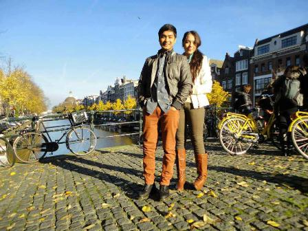 Coco Martin and Julia Montes in A Moment in Time