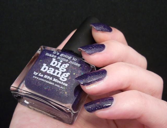 piCture pOlish Big Bang | Squeaky Nails