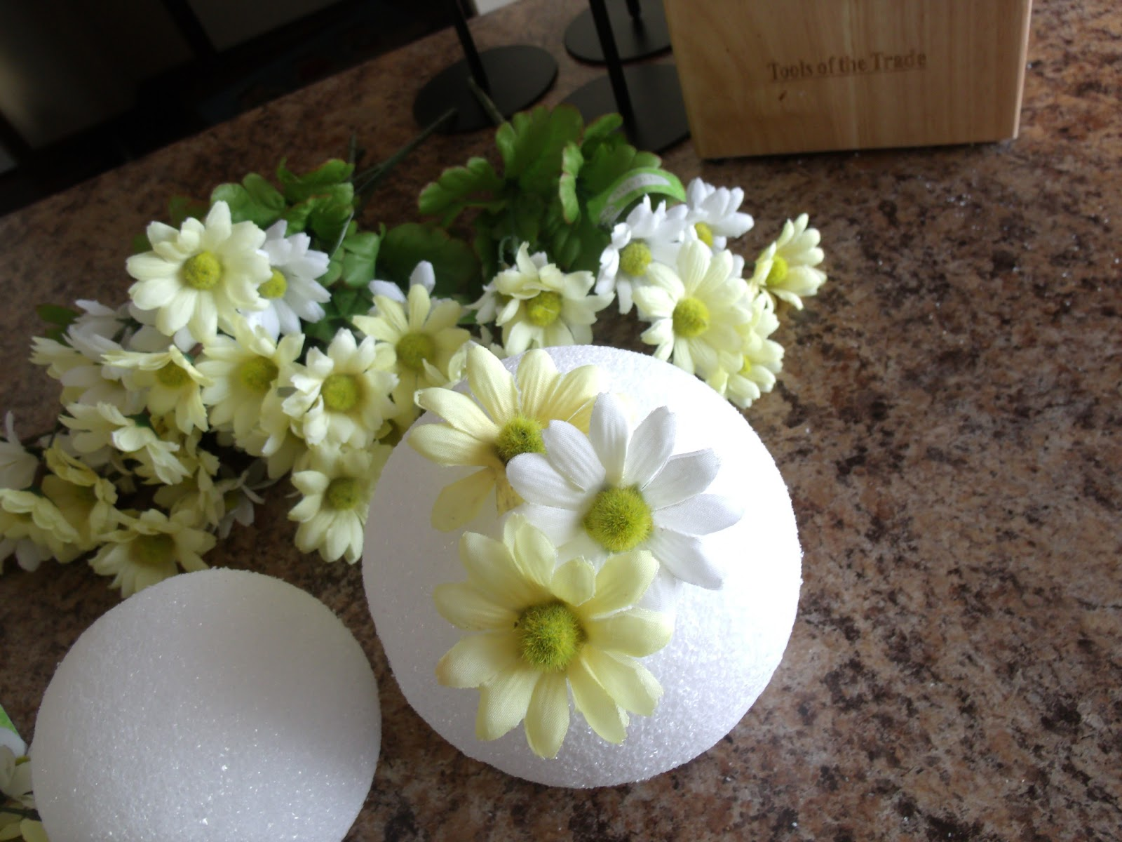 Everything In Between by Kelly & Tiffany Spring decor Flower balls