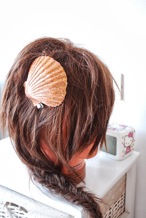 diy, shell, pin, my life as a mermaid, tutorial, conchiglia, accessorio, mermaid, sirena