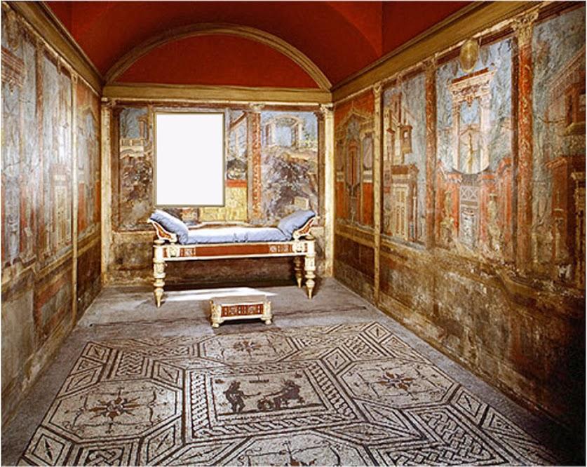Romeinse cultuur romeinse schilderkunst - Schilderij in de kamer ...