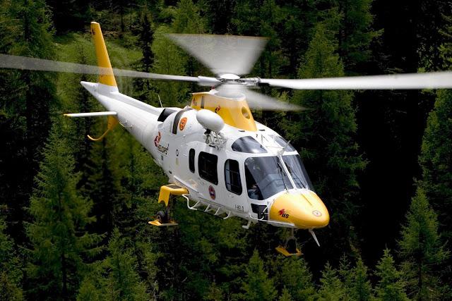Gambar Helikopter Agusta Westland AW 109 - 01