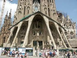 Sagrada Famillia barcelona 2012