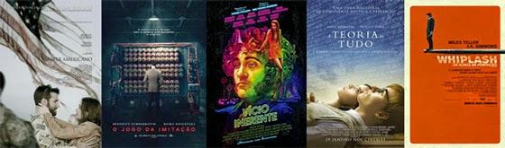 Melhor Roteiro Adaptado - Oscar 2015