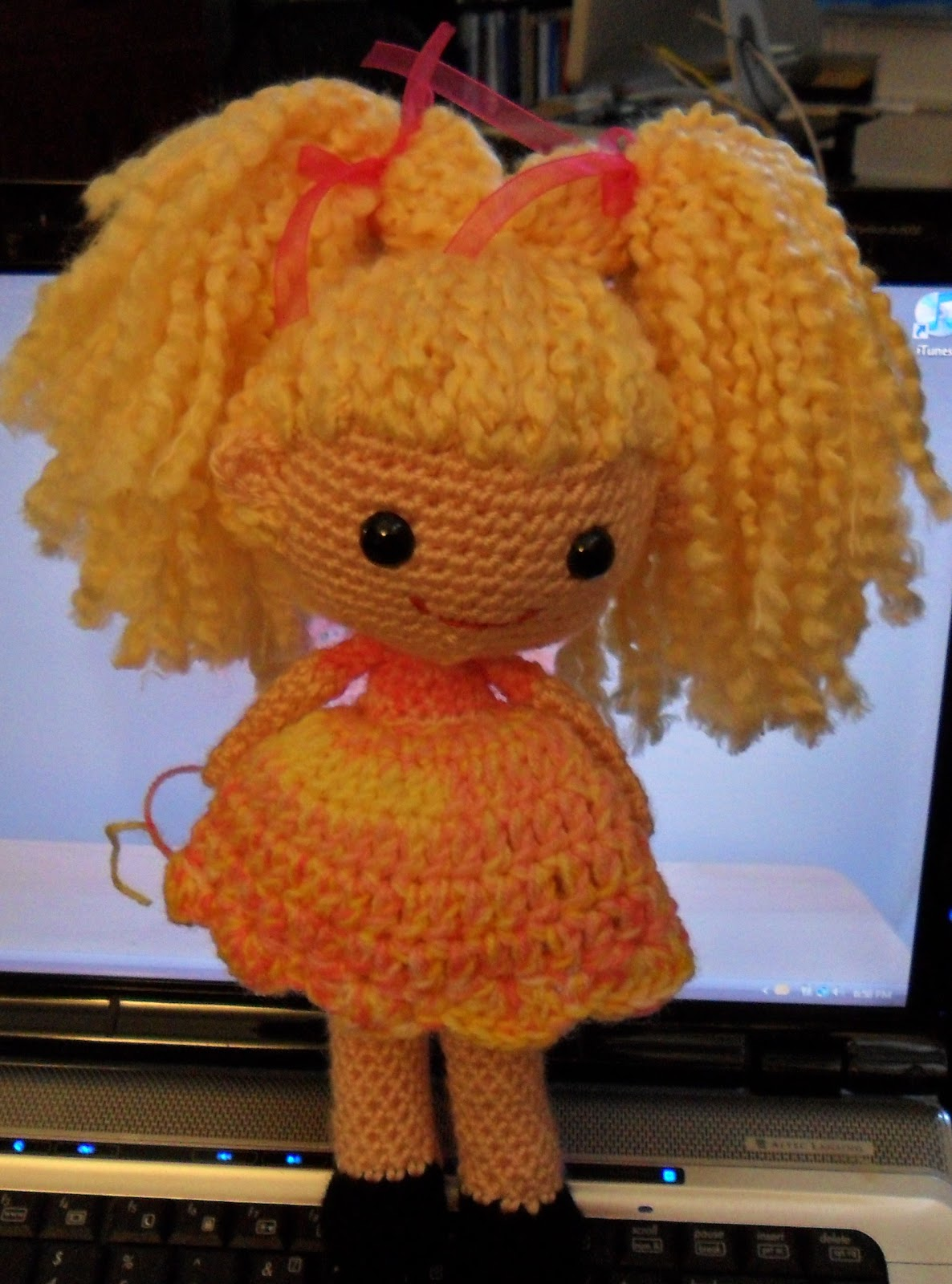 Amigurumi Pig Tail : PJ Crafts in Austin: Little Pigtail Girl Free PDF Download
