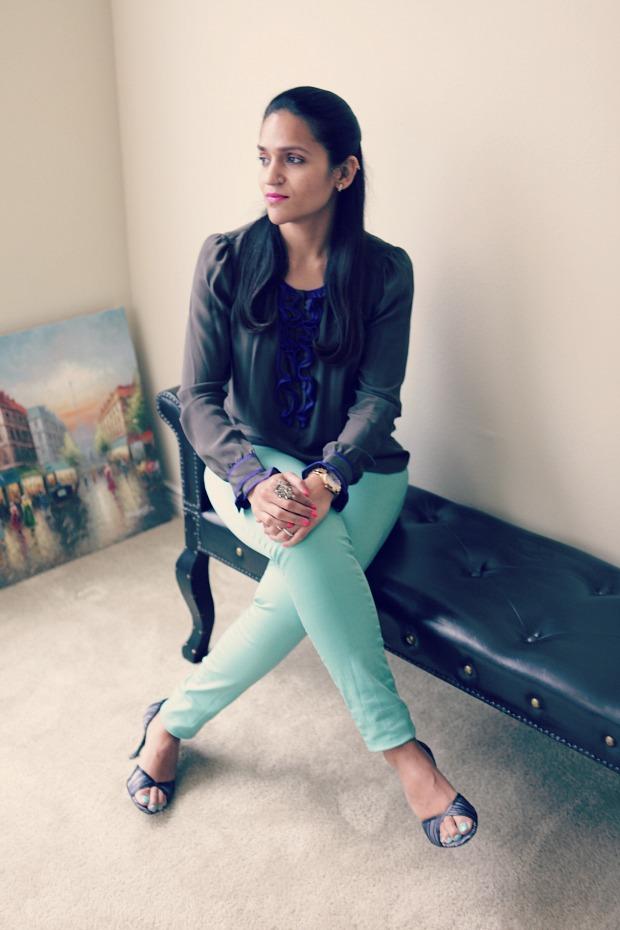 Rebecca Taylor, Jeans, Mint, Texas, San Antonio, Office Wear, Tanvi, Givenchy