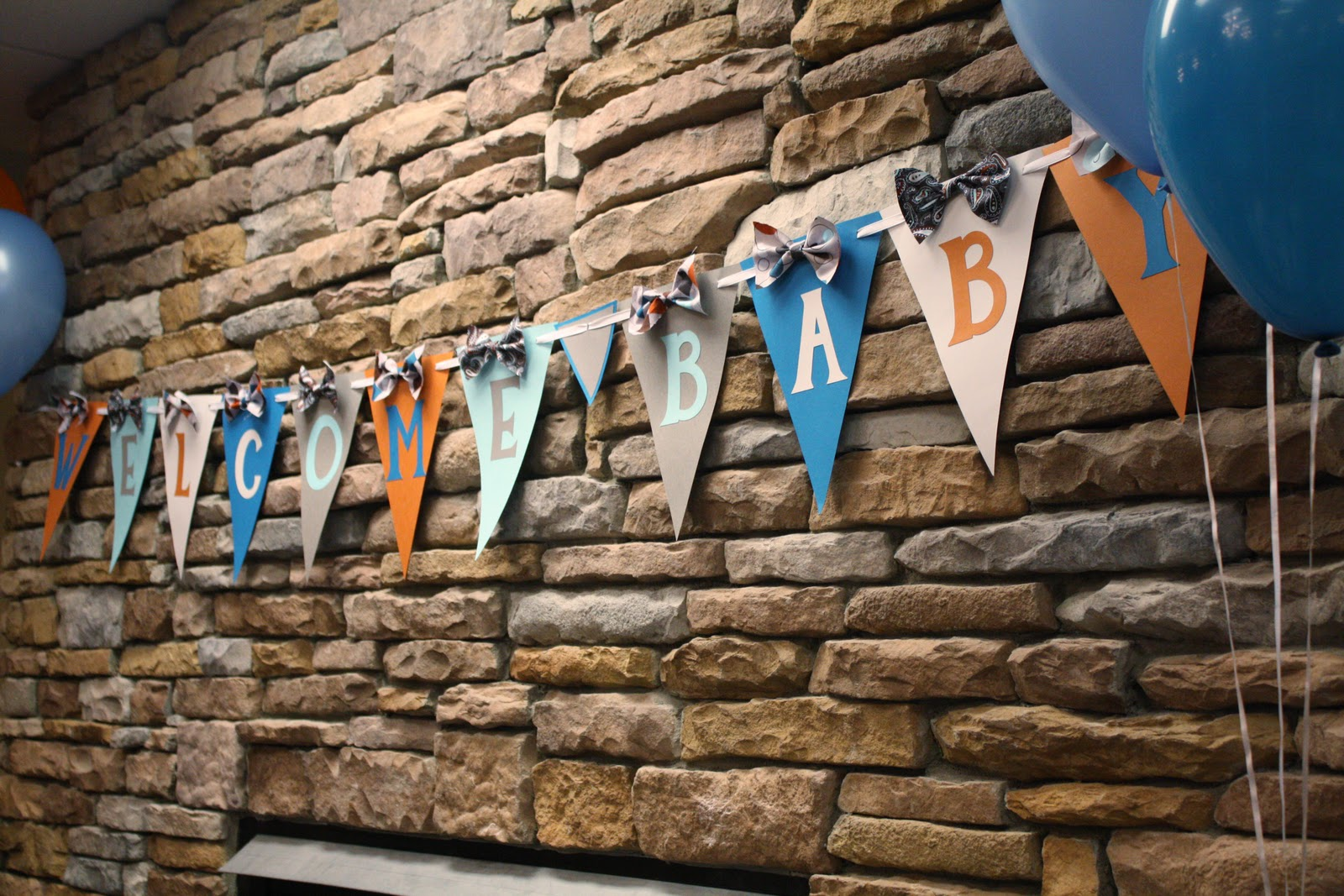 for more ideas on doing a bow tie themed shower you can check out the