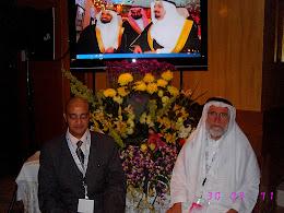 مع أحد عباقرة رعاية الموهوبين الأستاذ الدكتور إبراهيم علوي