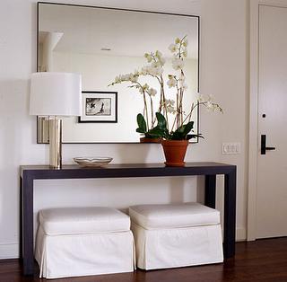 Construindo minha casa clean 50 hall de entrada de casas for Simple decorating 50 ways to inspire your home
