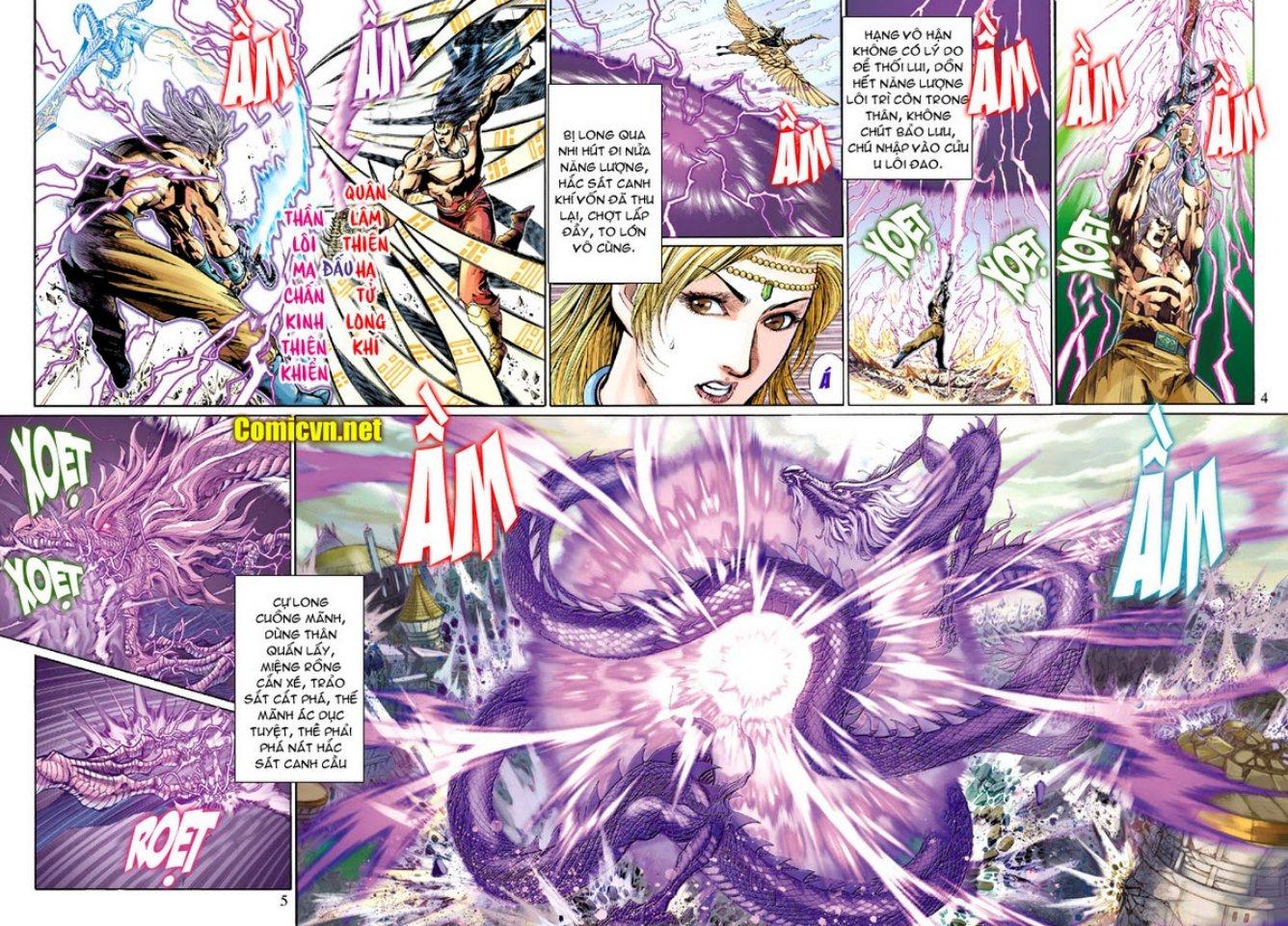 Thiên Tử Truyền Kỳ 5 - Như Lai Thần Chưởng chap 214 - Trang 5