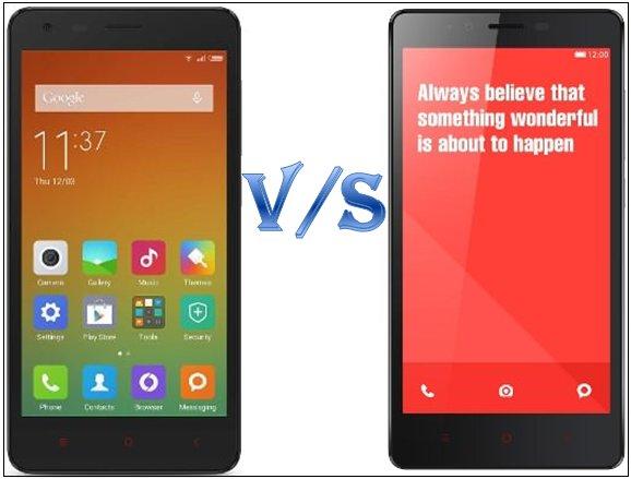 Xiaomi Redmi 2 Prime Vs Note