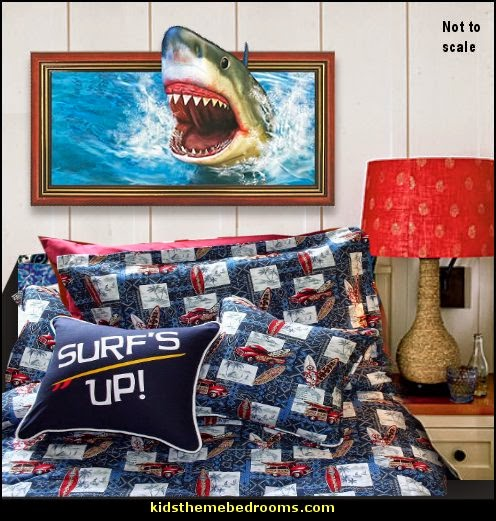 Http Themerooms Blogspot Com 2014 07 Shark Bedrooms Shark Murals Shark Decor Html
