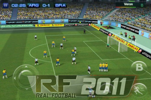 Real Football 2011 HD 1.1.0 - Nokia N9 - MeeGo Harmattan 1.2 - Nemo 1.3 - Free HD Game Download juego Real football 2011 HD