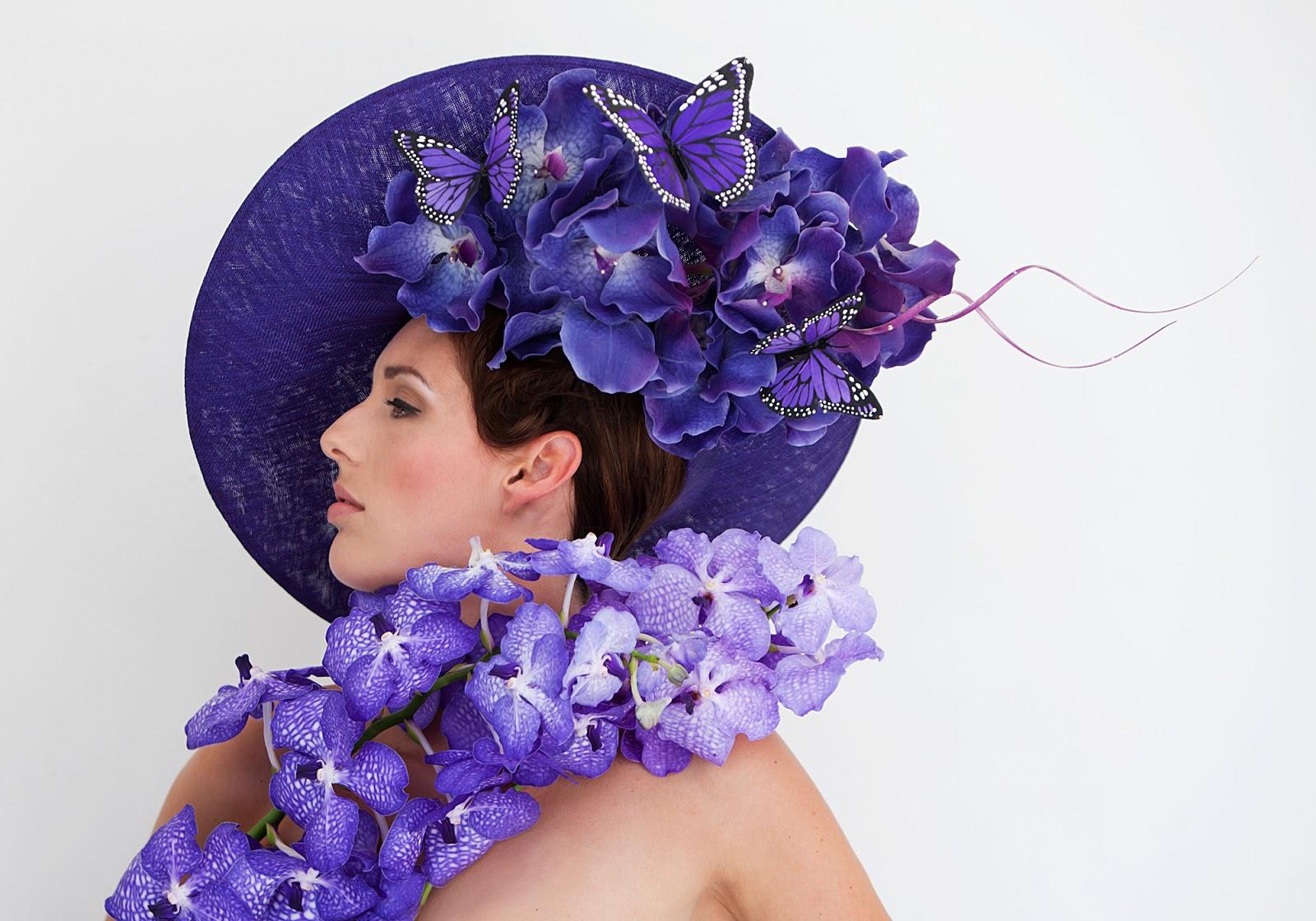 philip treacy cr e une collection de chapeaux pour les producteurs d 39 orchid es n erlandais. Black Bedroom Furniture Sets. Home Design Ideas