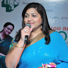 Kushboo in Blue Saree Latest Stills