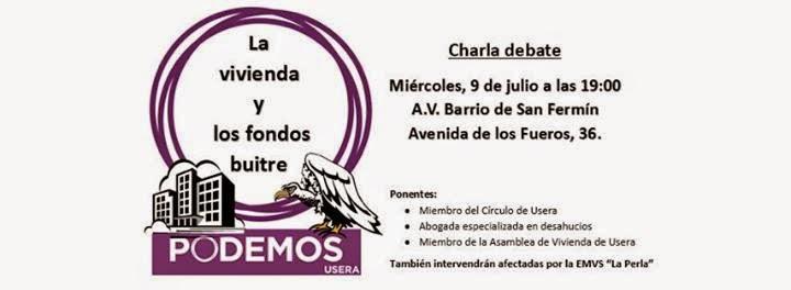 AAVV San Fermin. Podemos. PAH