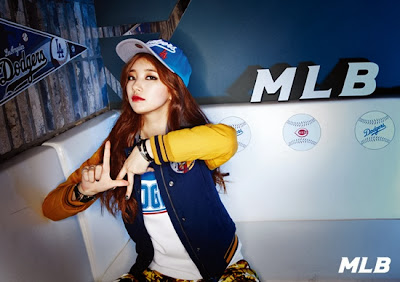 Suzy and Jia miss A MLB CF