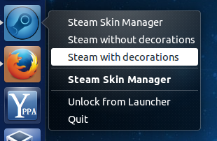 how to change your steam skin