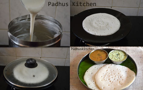 How to make sponge dosa