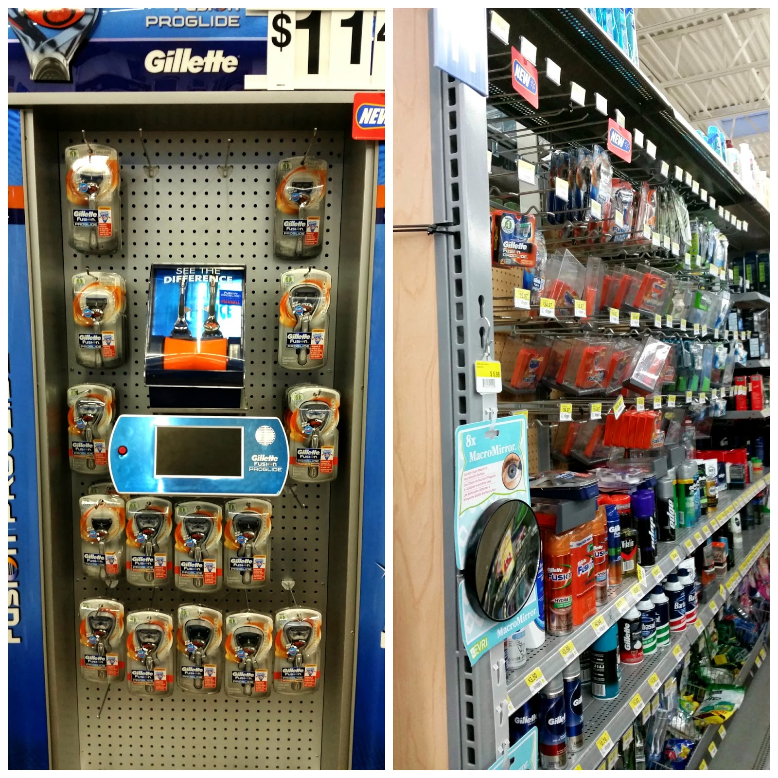 Gillette Flexball Razors available at Walmart #SmoothSummer #shop