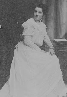 A photograph of Ellen Milton Palethorpe on her wedding day