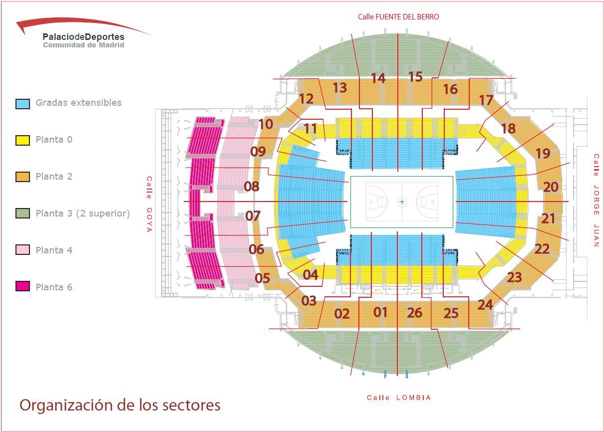 Pe a madridista de ciudad real septiembre 2012 for Puerta 7 palacio delos deportes