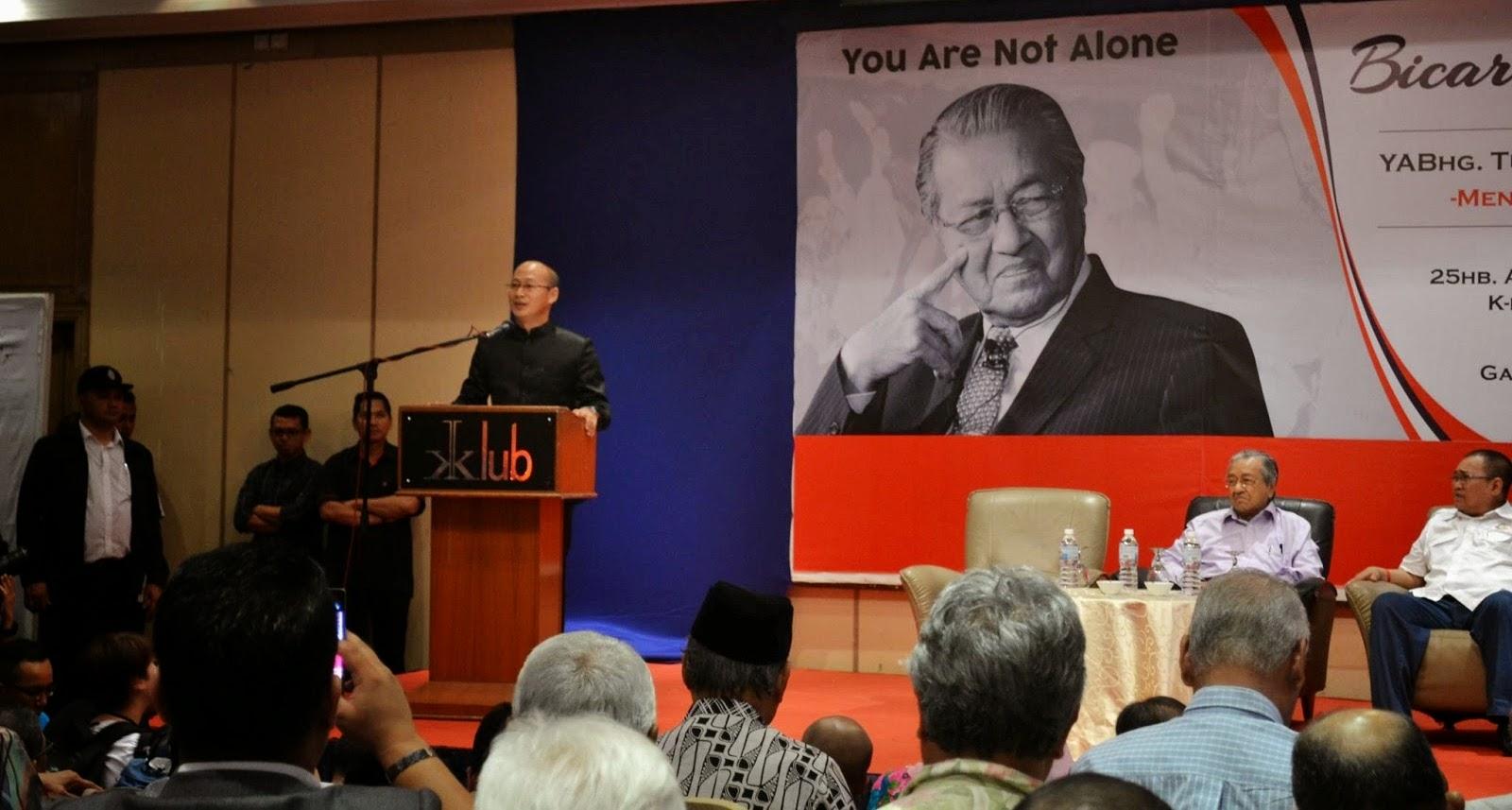 Tun Dr Mahathir setuju Suruhanjaya Diraja dipilih rakyat siasat 1MDB