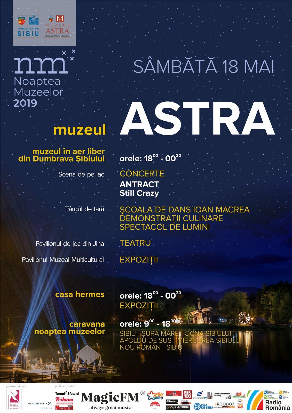 Noaptea Muzeelor & Ziua Internațională a Muzeelor - 18 mai 2019