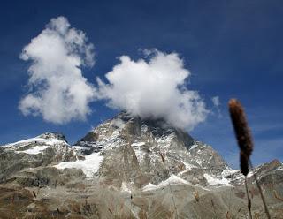 The Matterhorn, clothed