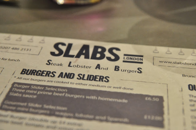 SLABS+London+Marylebone+review+menu