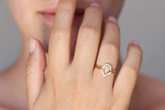 Top Ten Indie Engagement Rings from Etsy Buffalo Indie Weddings