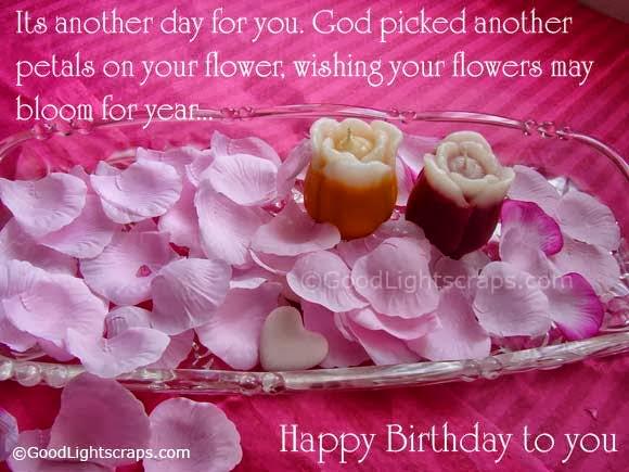 Brilliant Birthday Wish Words