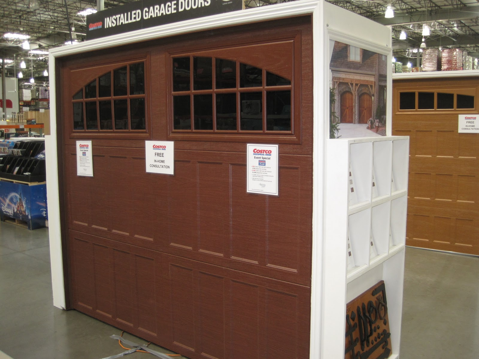 1200 #653C2B Garage Doors Unlimited: Garage Door Road Show At Costco! pic Garage Doors At Costco 36911600