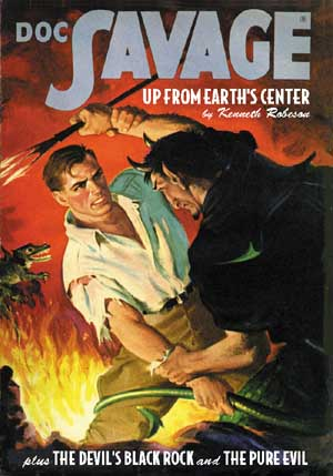 DOC SAVAGE From SANCTUM BOOKS