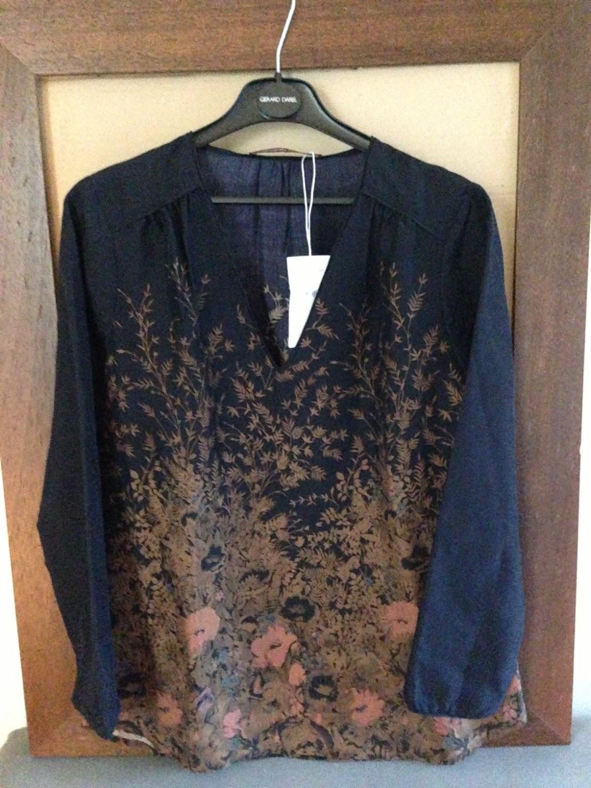 Le dressing de madame coco comptoir des cotonniers tunique nohika en soie bleue - Tunique comptoir des cotonniers ...