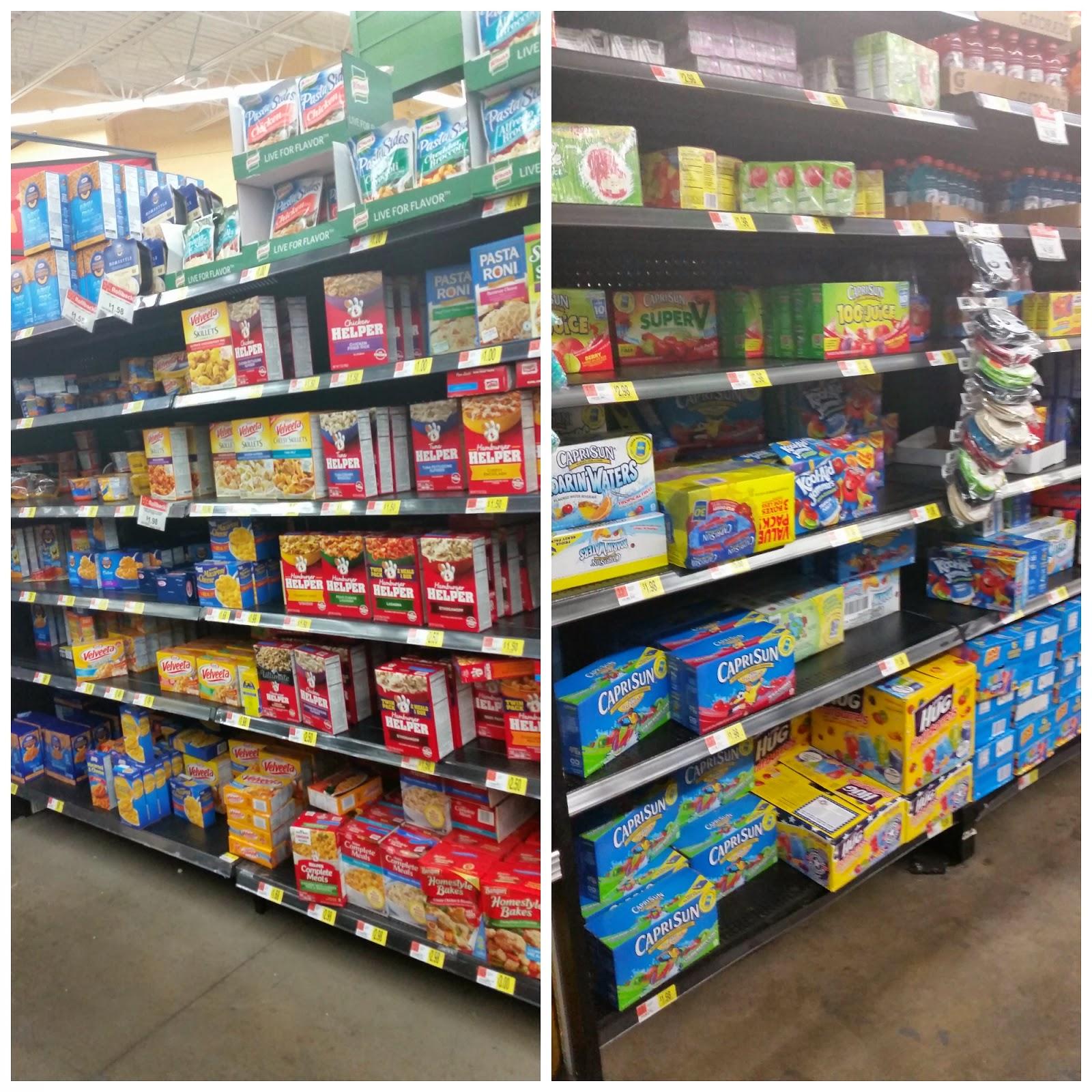 Kraft Mac & Cheese and Capri Sun: Available at Walmart #GolazoKraft #Shop