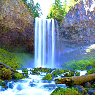 Nature-Waterfall-hd Apple ipad 4-iPhone-Wallpaper