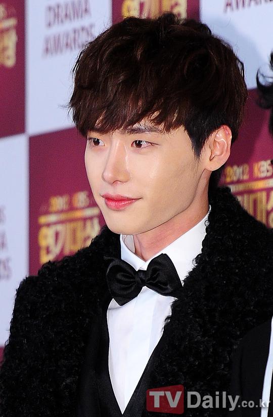 Lee Jongsuk 2012 KBS Drama Awards