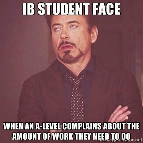 ib extended essay memes