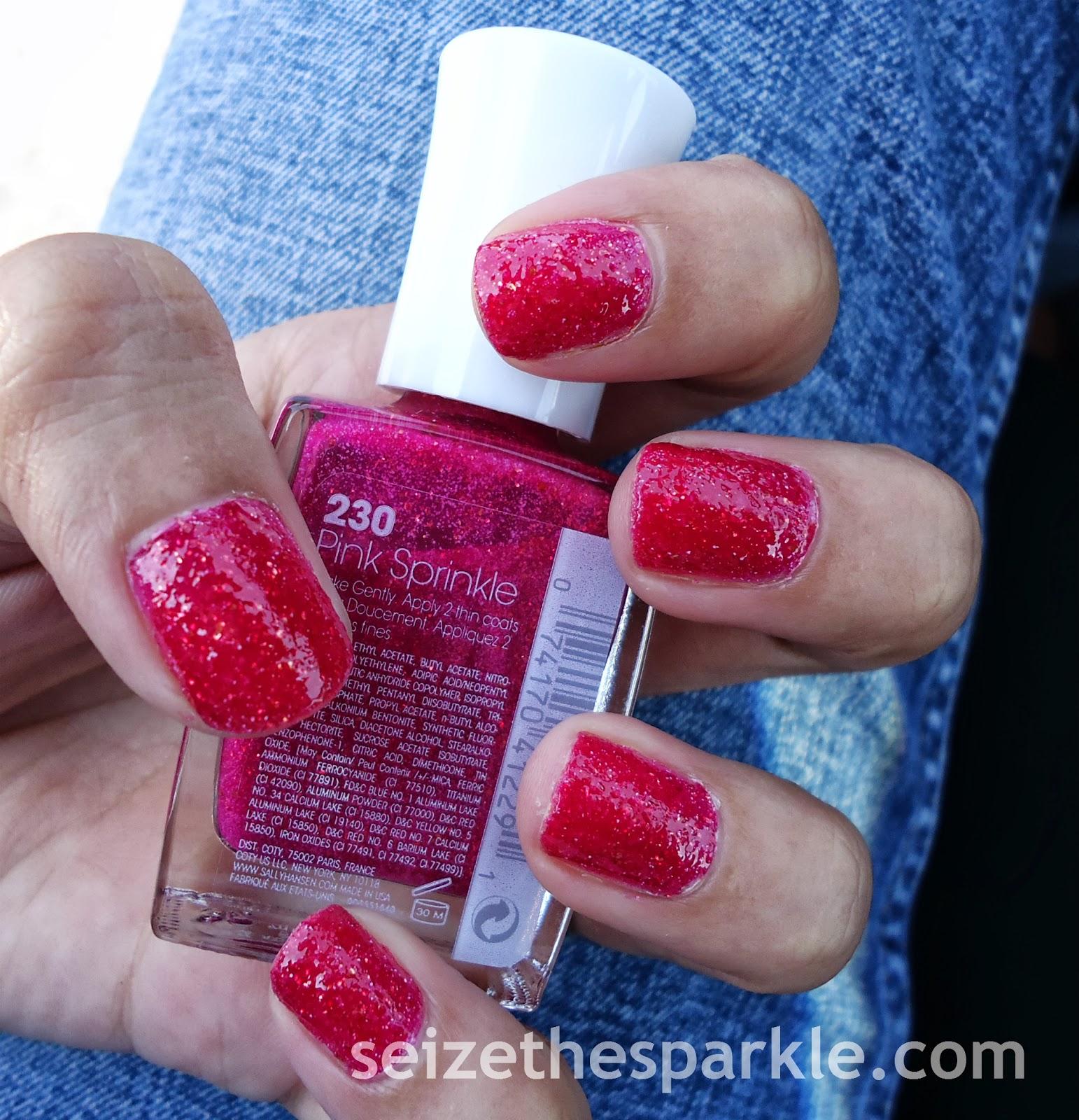 Sally Hansen Pink Sprinkle