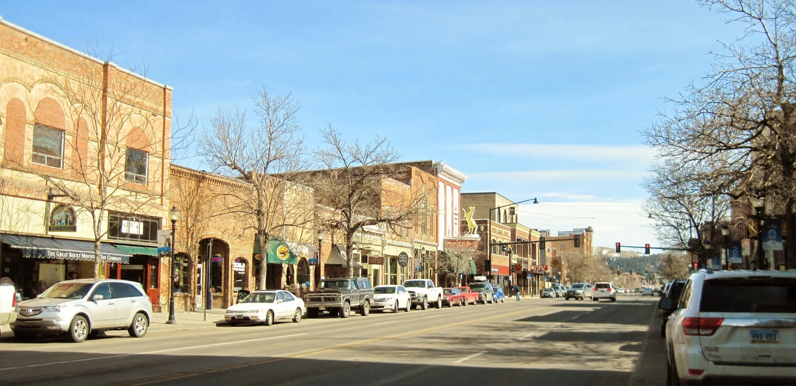 downtown Bozeman Montana