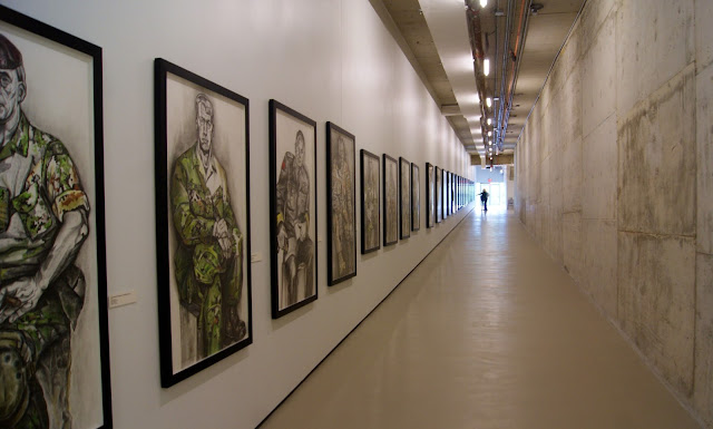 Gertrude Kearns: The Art of Command: Portraits and Posters of Canada's Afghan Mission Exhibit at Historic Fort York in Toronto, art, artmatters, culture, military, the purple scarf, officers, melanie.ps, ontario, paintings