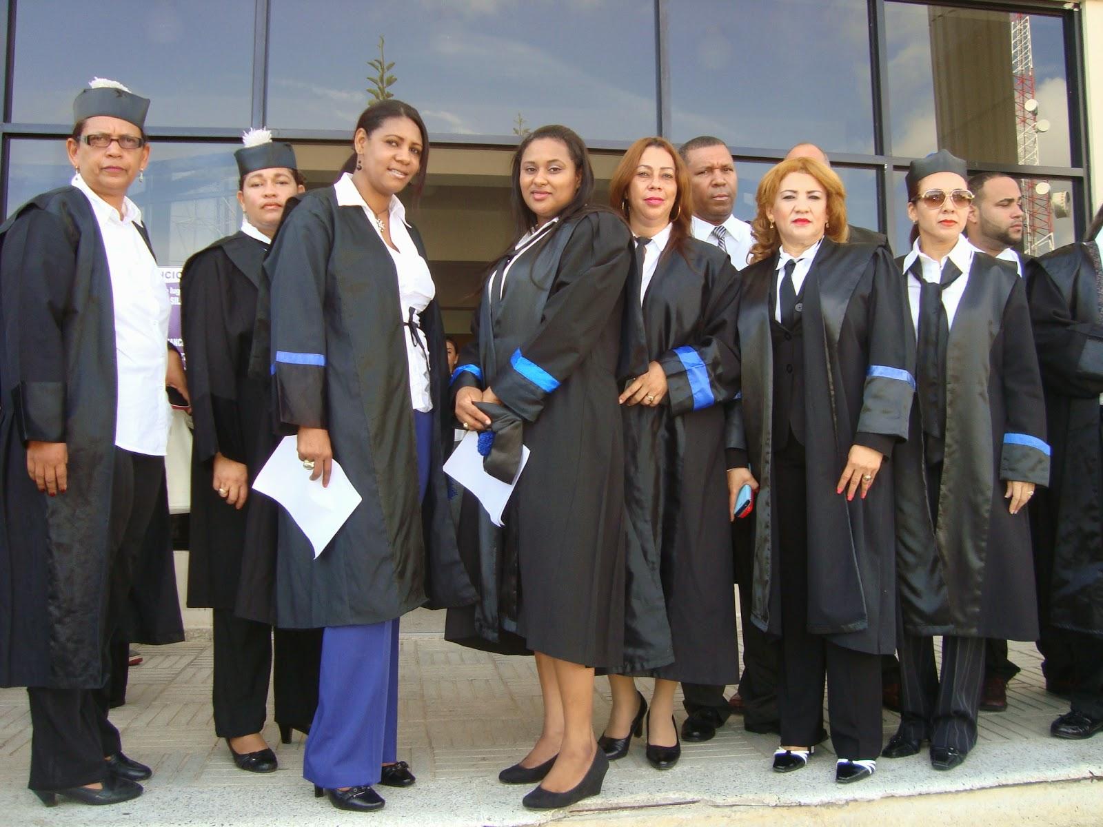 FISCALES MARIA TRINIDAD SANCHEZ PARALIZA LABORES PALACIO JUSTICIA NAGUA