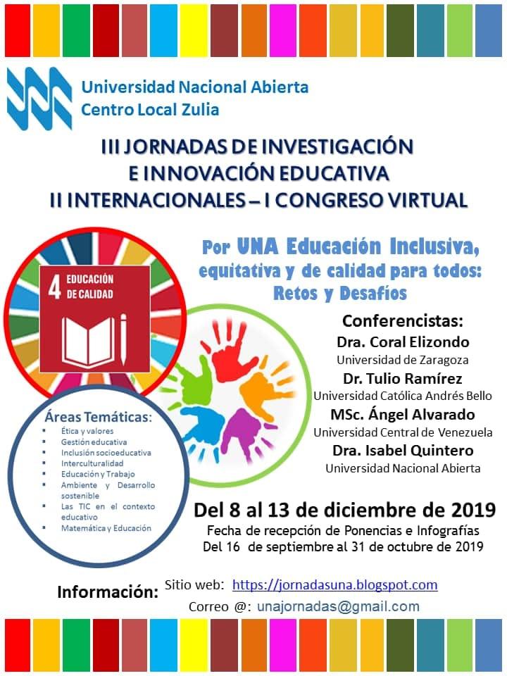 III Jornadas de Investigación e Innovcion Educativa