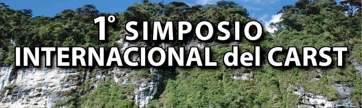 SIMPOSIO INTERNACIONAL DEL CARST. TARAPOTO  PERU 2016