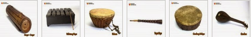 Traditional Musical Instruments of Jambi Indonesia