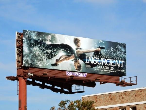 Insurgent movie billboard